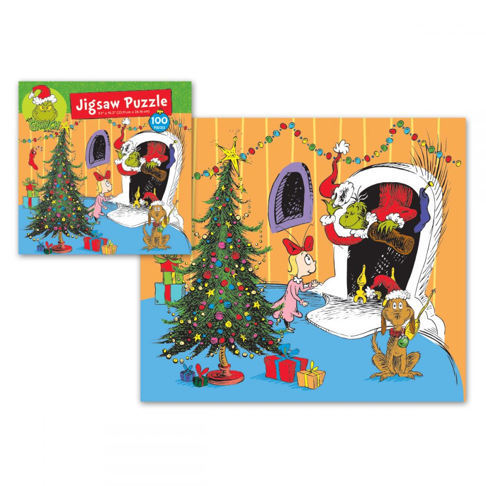 Grinch 100pc Jigsaw Puzzle