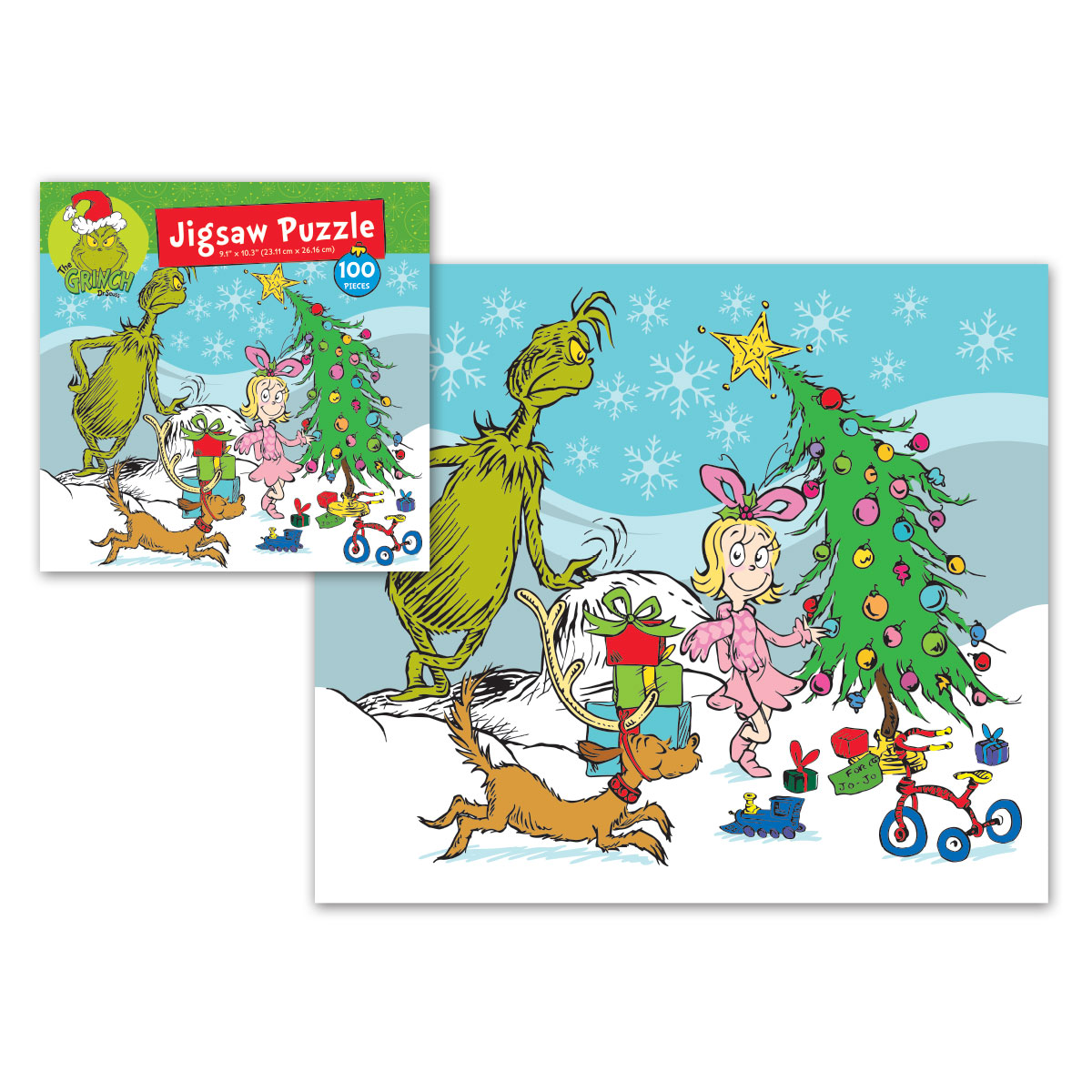 Grinch 100pc Jigsaw Puzzle 2