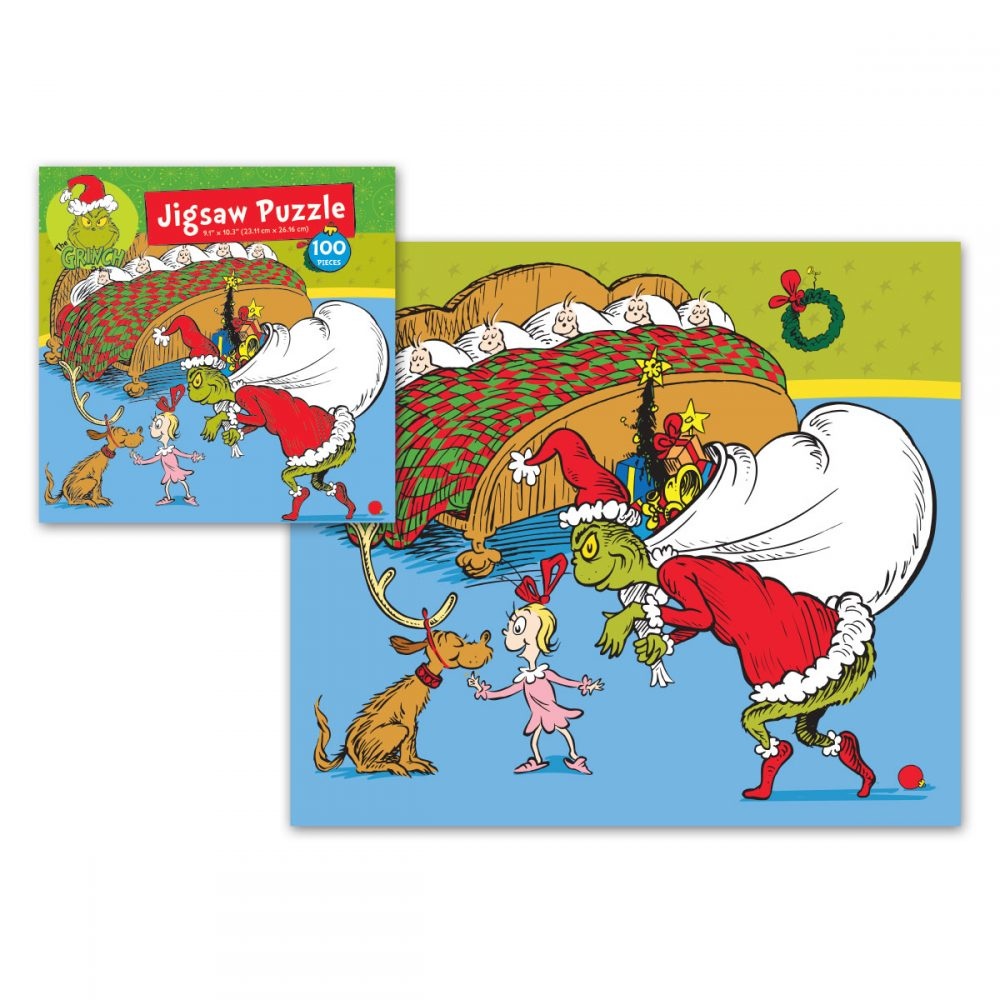 Grinch 100pc Jigsaw Puzzle 3