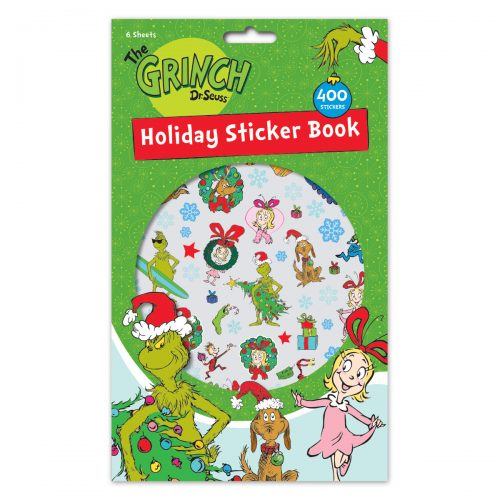 Grinch 400ct Holiday Sticker Book