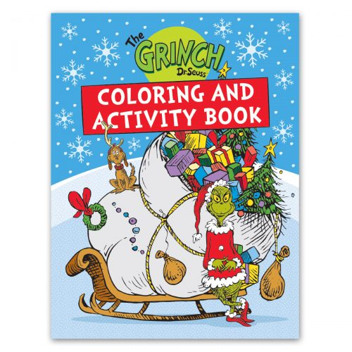 Grinch Coloring & Activity Book