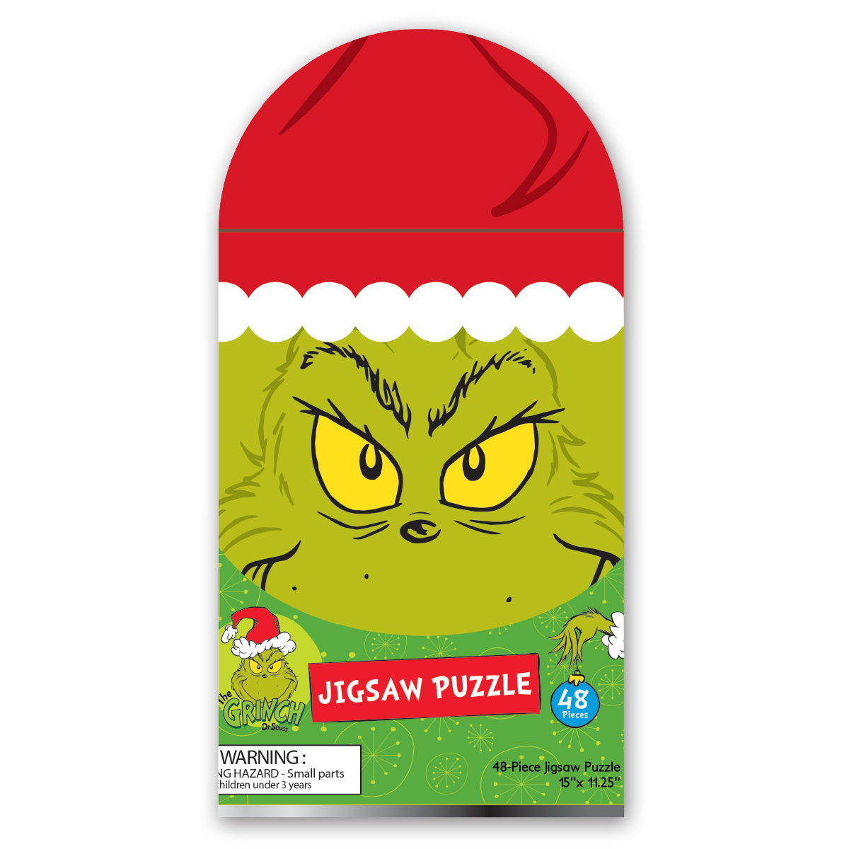 Grinch Puzzle Tin