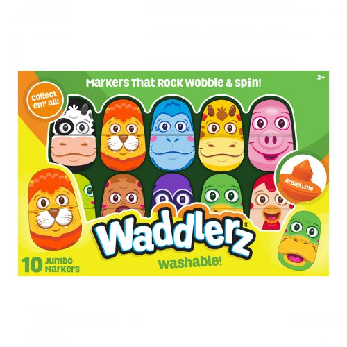 10 Pack Box of Waddlerz Markers