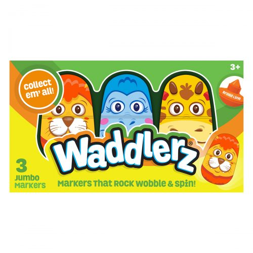 3 Pack Box of Waddlerz Markers