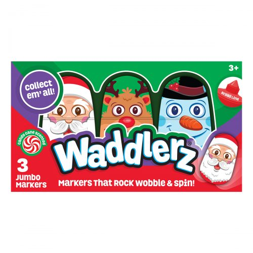 3 Pack Box of Holiday Waddlerz