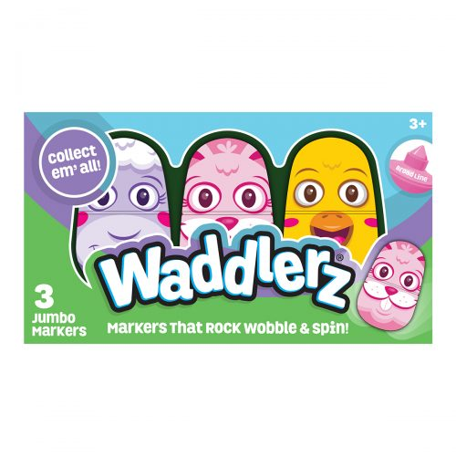 3 Pack Box of Spring Waddlerz