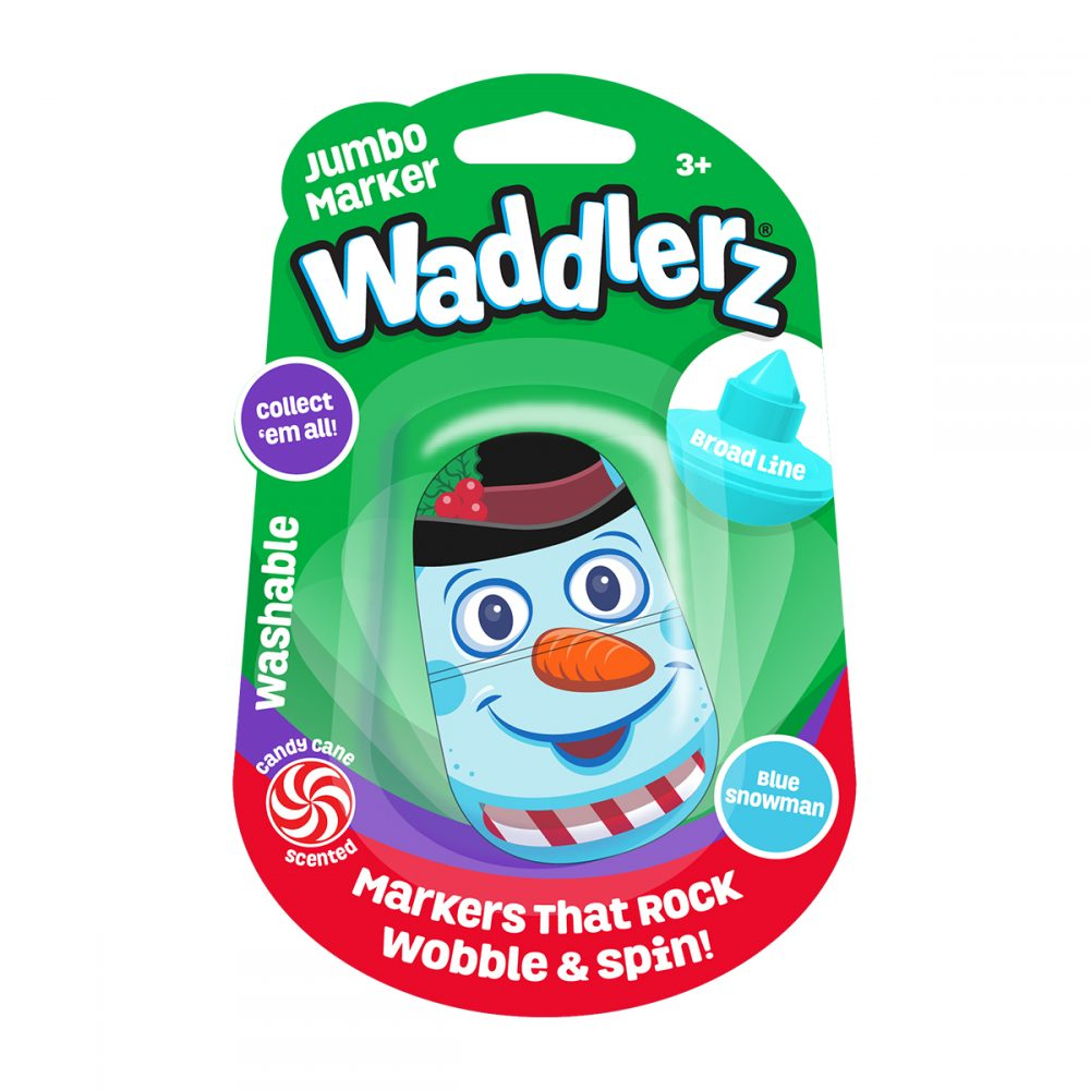 Waddlerz Holiday: Blue Snowman