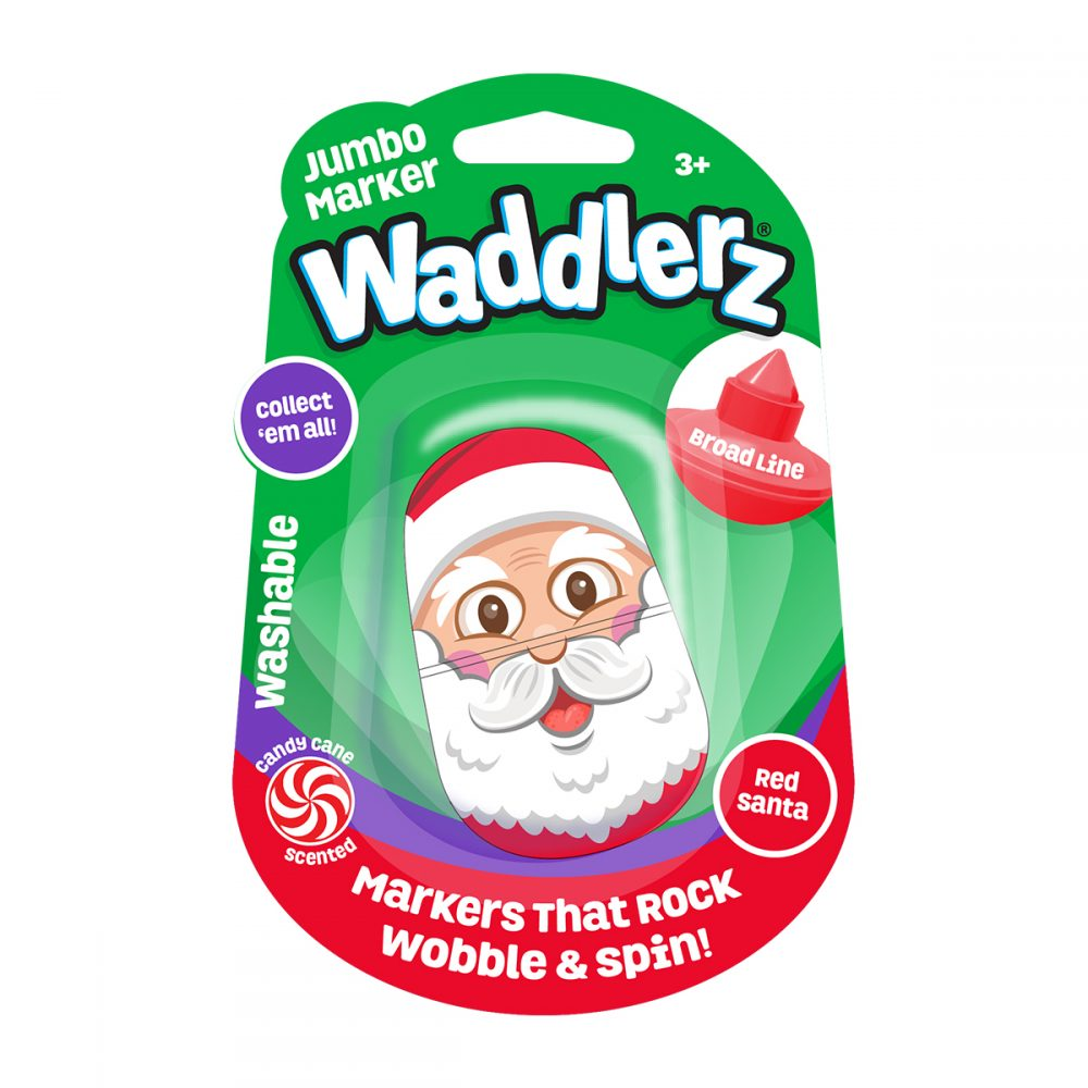 Waddlerz Marker: Red Santa