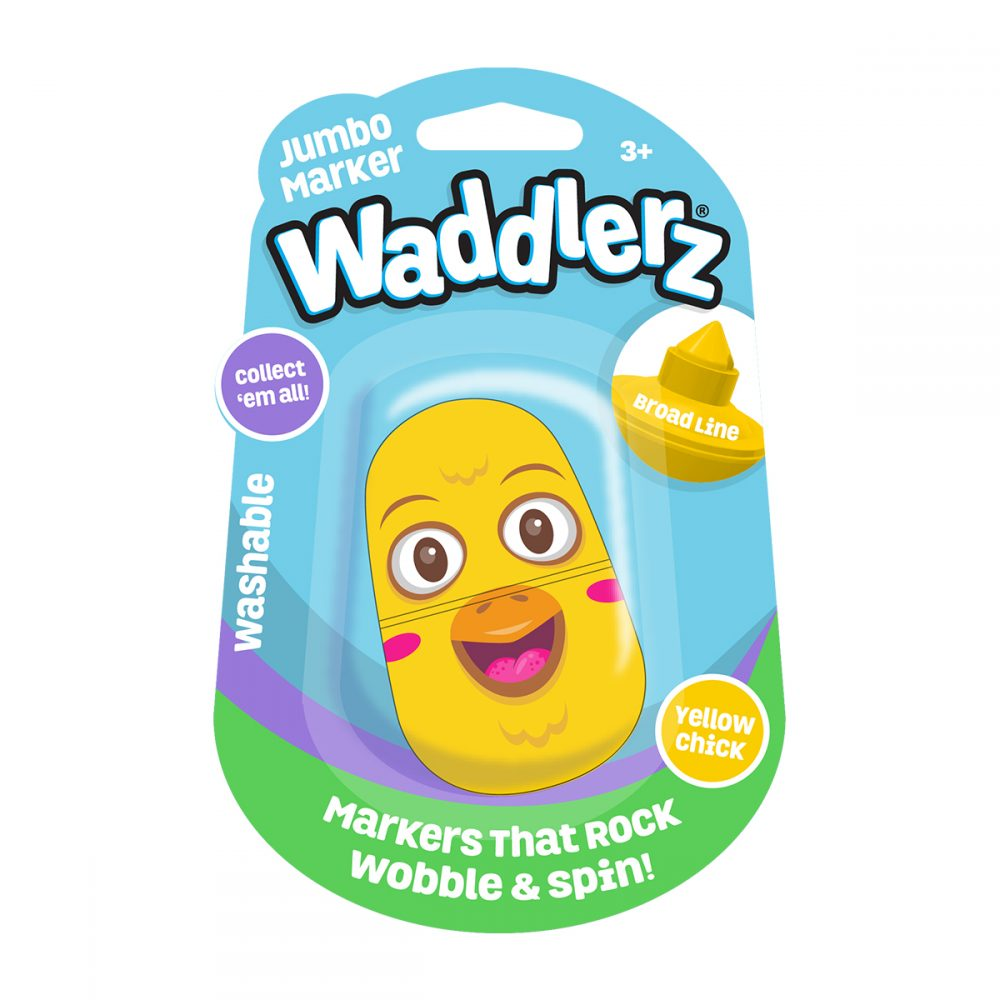 Waddlerz Marker: Yellow Chick