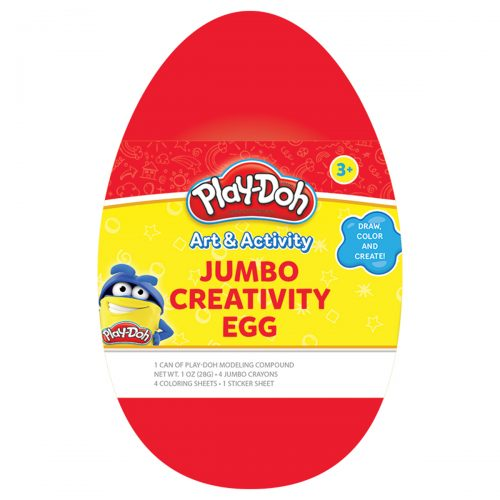 Play-Doh Red Jumbo Creativity Egg