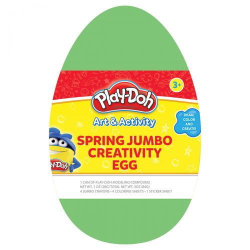 Play-Doh Spring Green Jumbo Creativity Egg
