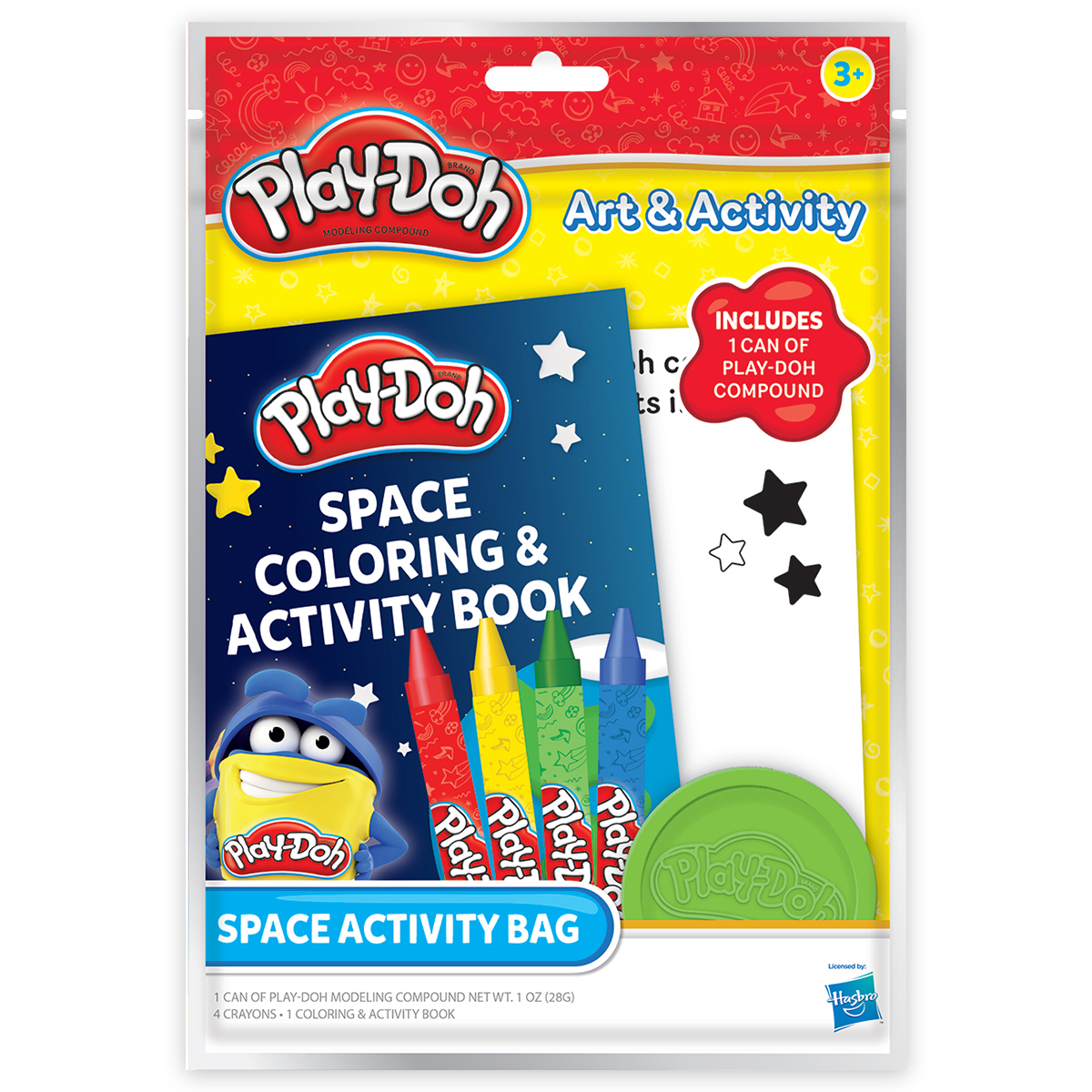 Play-Doh Space Activity Bag
