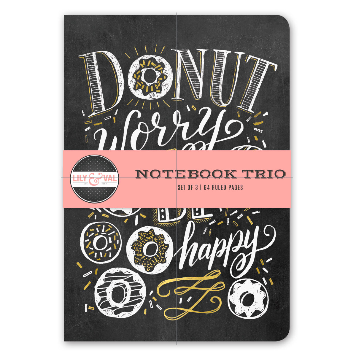 Lily & Val Notebook Trio