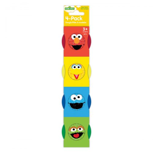 Sesame Street 4-Pack of 1oz Dough