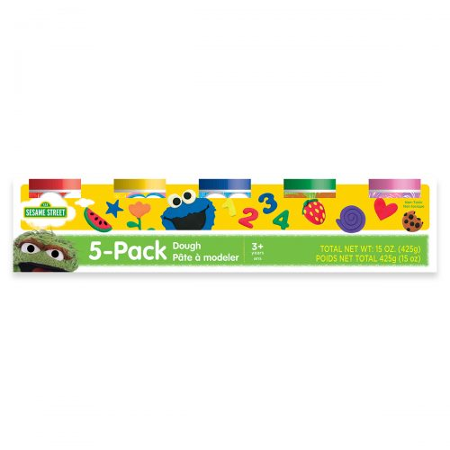 Sesame Street 5 Pack of Dough