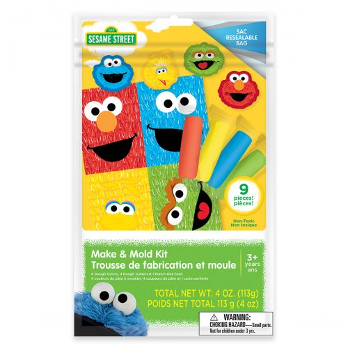 Sesame Street Make & Mold Kit