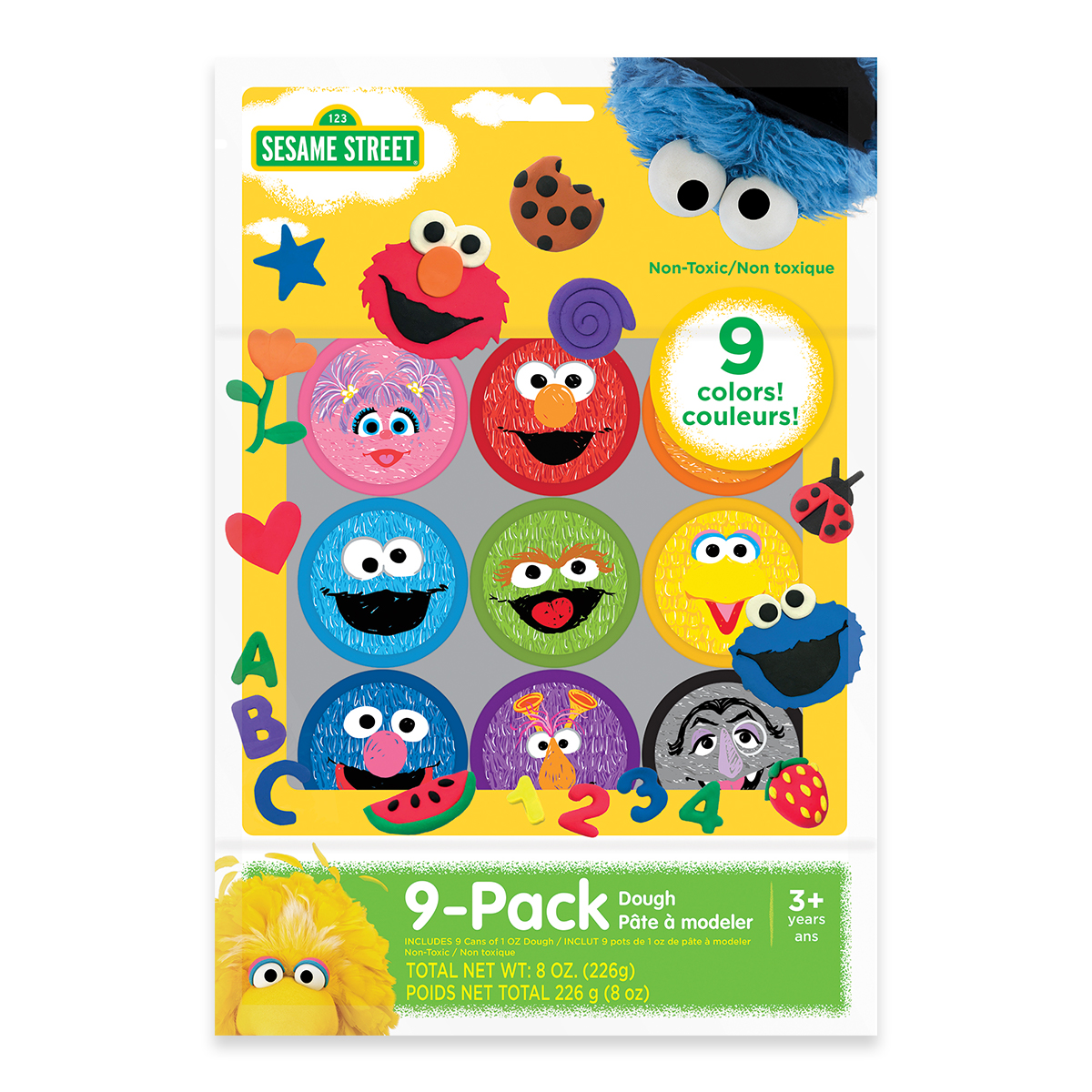 Sesame Street 9-Pack Dough Party Pack