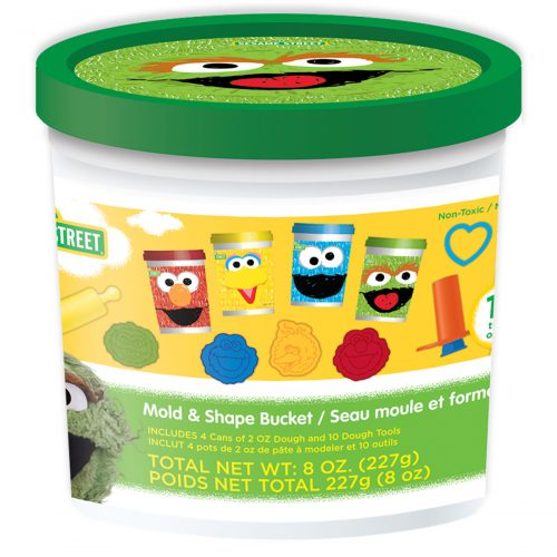 Sesame Street Dough Bucket