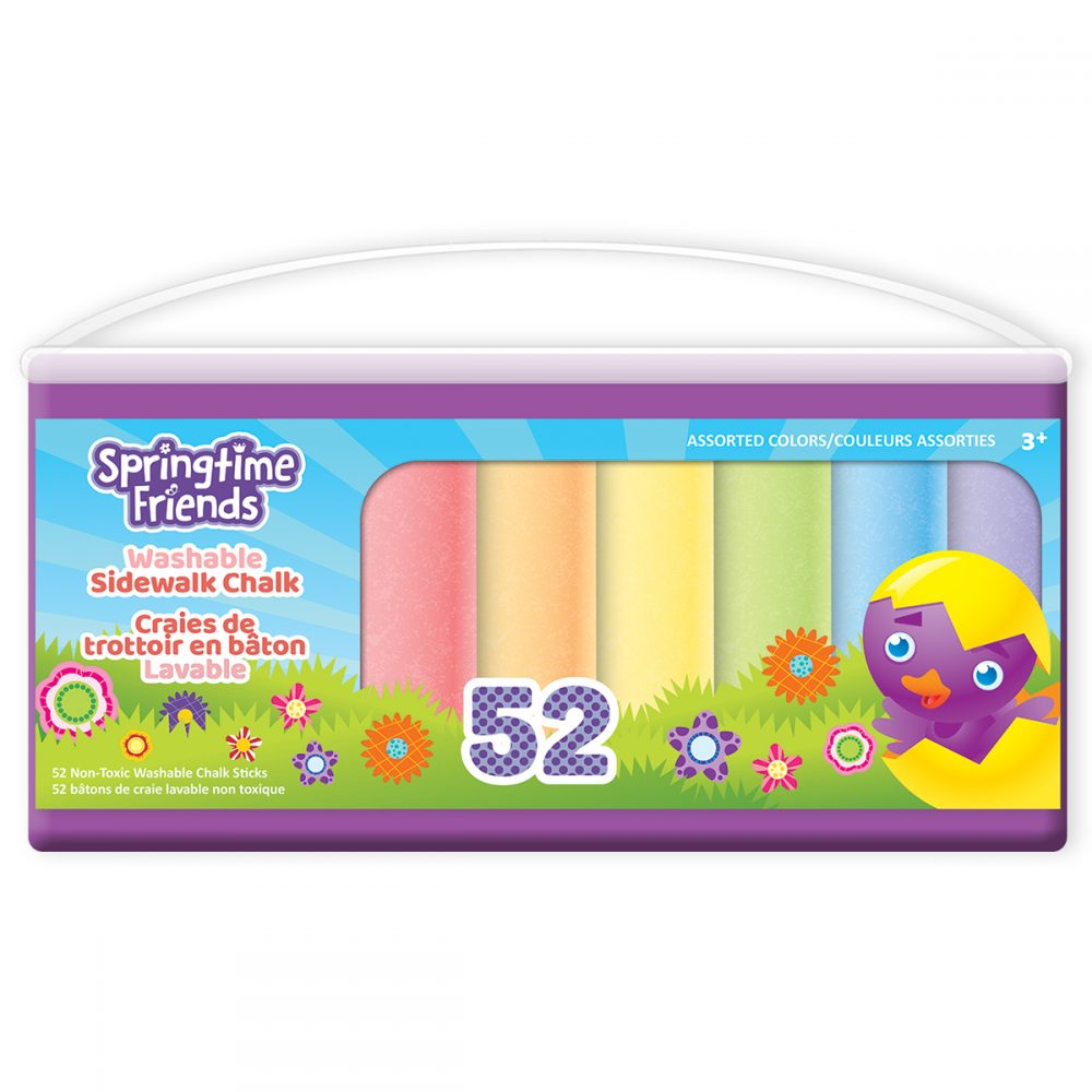 Springtime Friends 52 Count Chalk