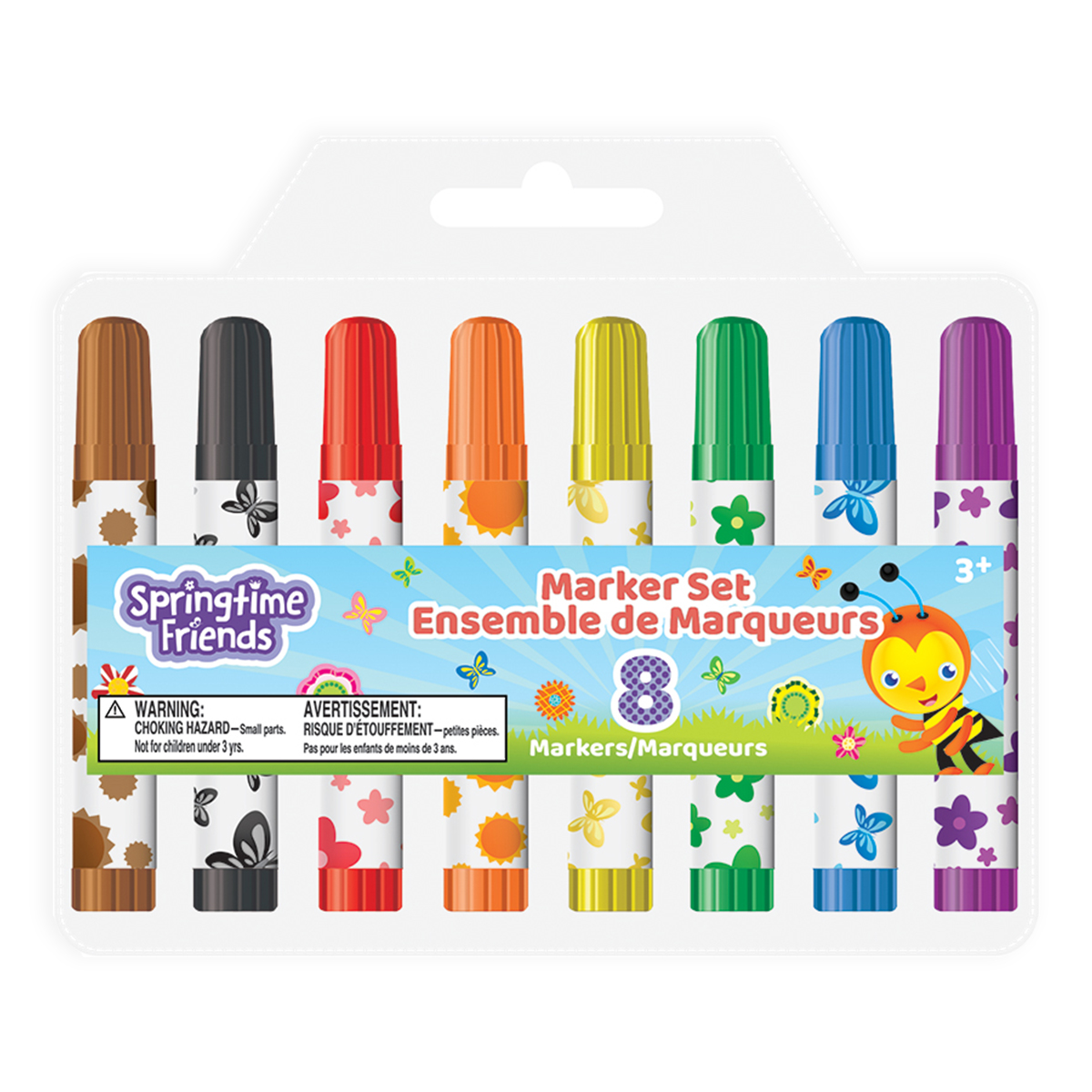 Springtime Friends 8-Count Mini Markers