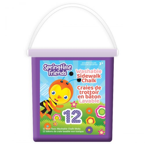 Springtime Friends 12-Count Chalk Bucket