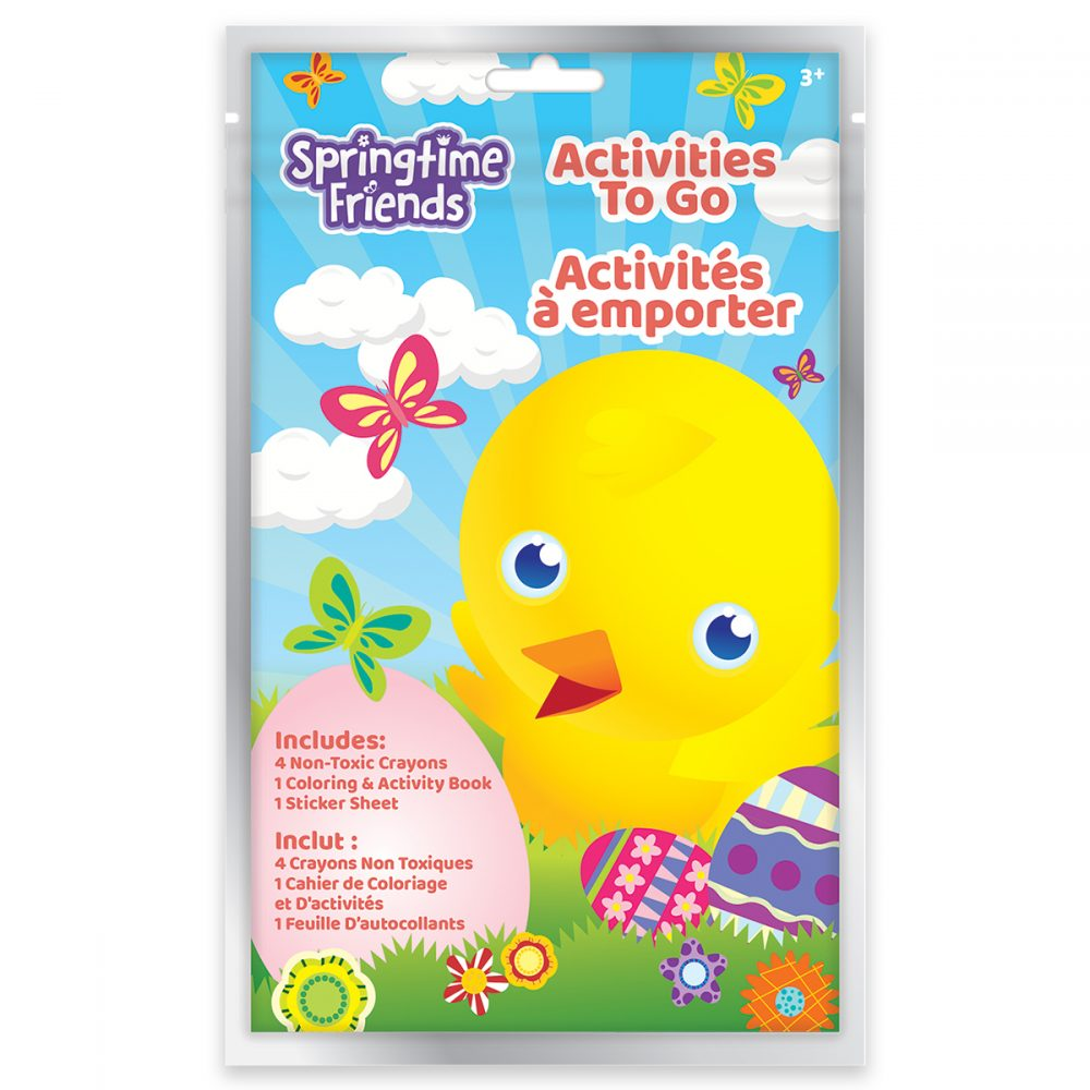Springtime Friends Activities to Go - Chick