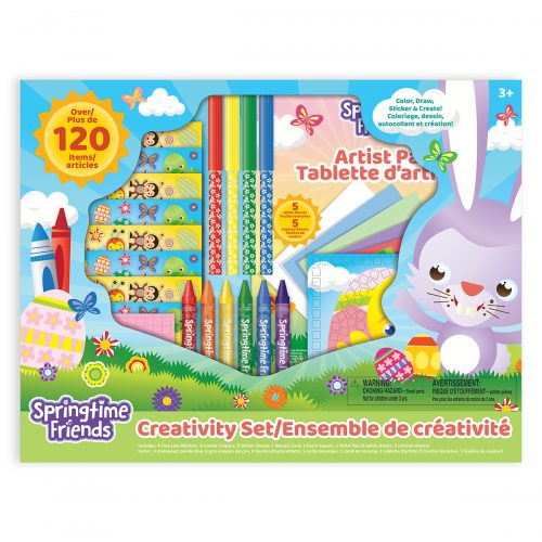 Springtime Friends Creativity Set