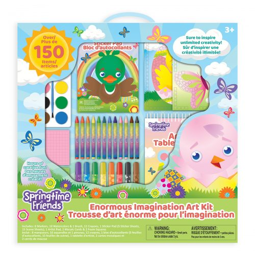 Springtime Friends Enormous Imagination Art Kit