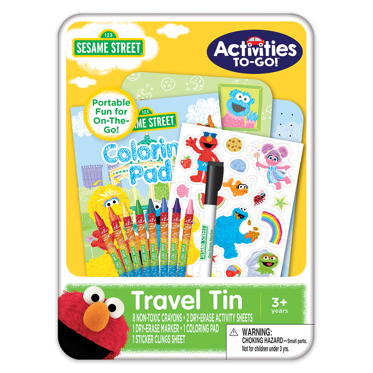 Sesame Street Activities-to-Go Tin