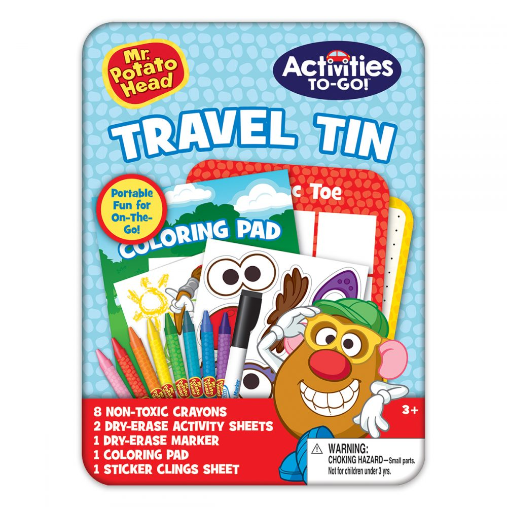 Mr. Potato Head Activities-to-Go Tin
